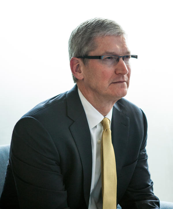 Privacy is one of a number of issues Apple CEO Tim Cook has called morally important.