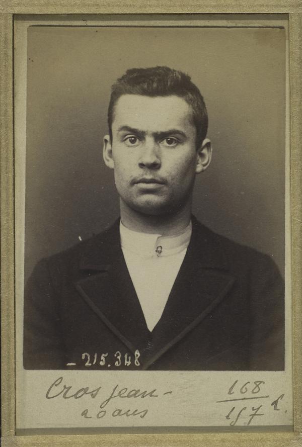 Jean Cros, 19 (1894)