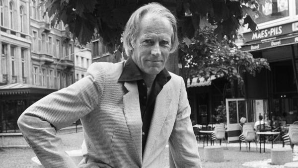 Sir George Martin, seen here in 1984, was known for his crucial role in shaping the sound of the Beatles.