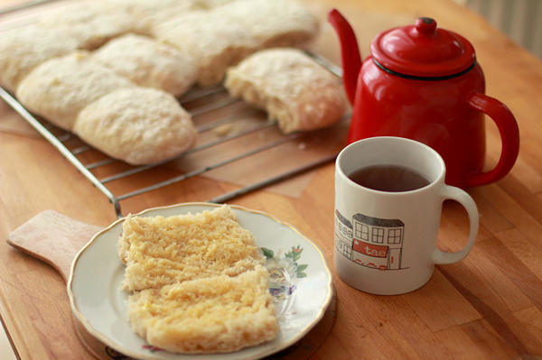 """A blaa is a soft, doughy white roll – with either a soft or crusty top. It has a chewy texture that makes it a perfect vehicle for butter. Only the ones baked in Waterford, Ireland, can officially be called """"blaa,"""" but you can try out the recipe below at home."""