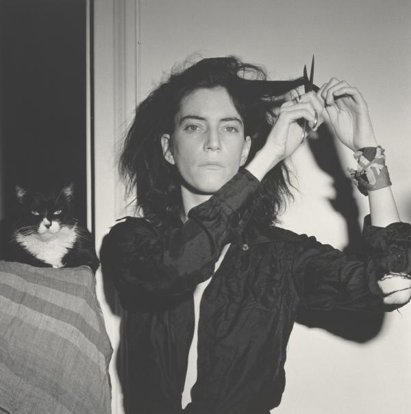 """Patti Smith met Robert Mapplethorpe just after she moved to New York in the late 1960s. He made this portrait of her in 1978. <a href=""""http://www.npr.org/templates/story/story.php?storyId=122722618"""">Click here to listen to Smith talk about their 22-year friendship and creative partnership</a>."""