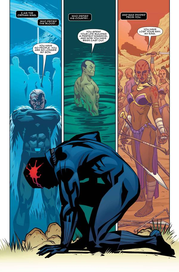 Marvel's Black Panther by writer Ta-Nehisi Coates and artist Brian Stelfreeze.