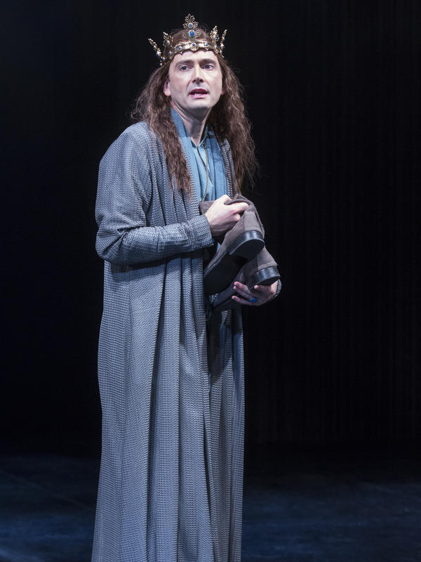 David Tennant stars in <em>Richard II</em>, in which the English monarch's hubris leads to his downfall.