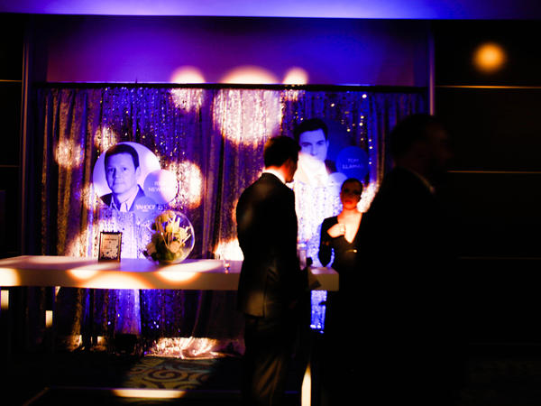 The scene as the Yahoo/ABC pre-dinner party opened, which as it was the first party of the evening was the first stop for many dinner guests ahead of the 102nd White House Correspondents' Association Dinner on Saturday in Washington, D.C.