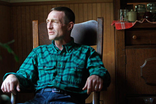 """Some days I wake up and go, 'Am I wasting time, when I could be on chemotherapy or getting a surgery?' "" asks Tony Lapinski, a Montana veteran who worries about what is causing his severe back pain."