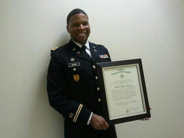"""Antonio """"Tony"""" Brown was a captain in the U.S. Army, serving in the Army Reserve at the time of his death."""