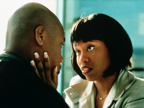 King as Cuba Gooding Jr.'s savvy wife in <em>Jerry Maguire.</em>