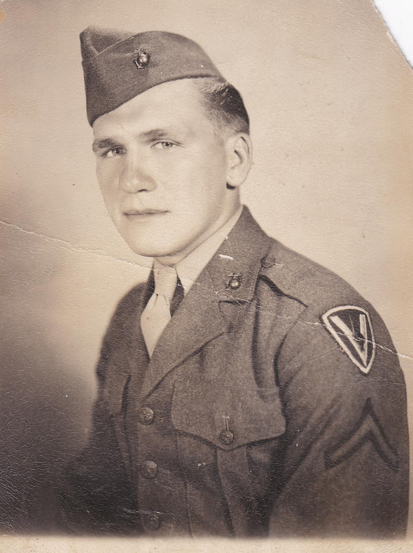 Pvt. 1st Class Harold Schultz.