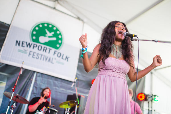 "Ruby Amanfu's sultry cover of ""I Put A Spell On You"" was a crowd favorite on Saturday."