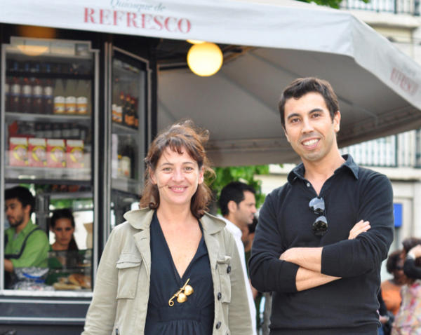 Lisbon native and entrepreneur Catarina Portas and architect João Regal teamed up to restore kiosks to Lisbon's plazas. They also painstakingly recreated the historic drinks and snacks these kiosks once served.