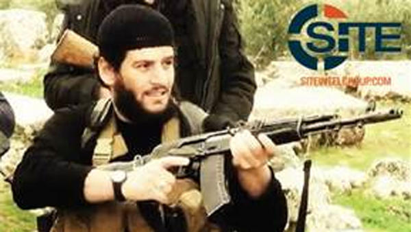 Abu Muhammed al-Adnani, spokesman for the Islamic State, has been killed in northern Syria, according to the IS semi-official news agency Amaq. He's shown here in an undated image provided by SITE Intel Group.