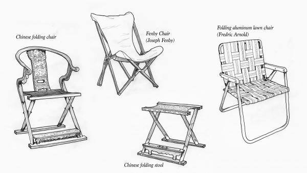 Rybczynski believes the oldest kind of chair was not a throne, but a folding chair.
