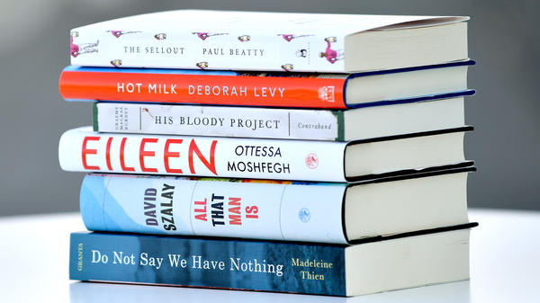 Six novelists have made it to the shortlist, the last step in the Man Booker Prize competition. The 2016 finalists are from Britain, the U.S. and Canada.