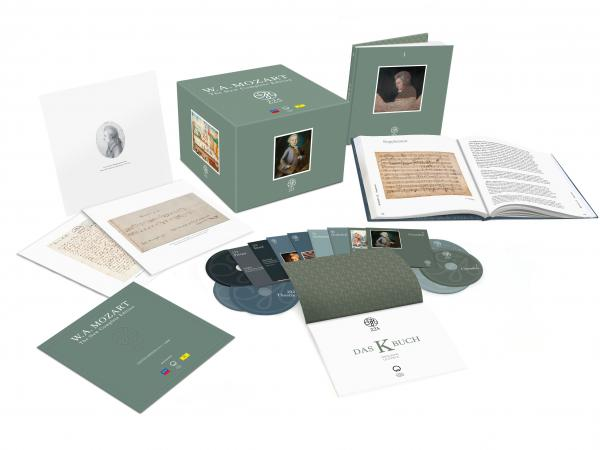The new Mozart set includes 240 hours of music, two hardcover books and more.