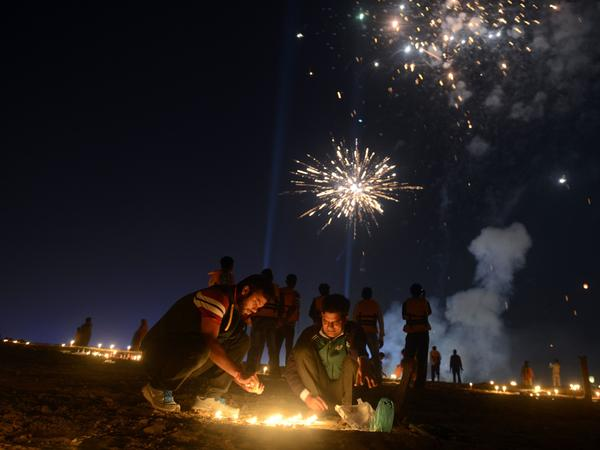 The South Asian holiday of Diwali is often called the festival of lights. Author Parth Shah sometimes thinks of it as Christmas with fireworks.