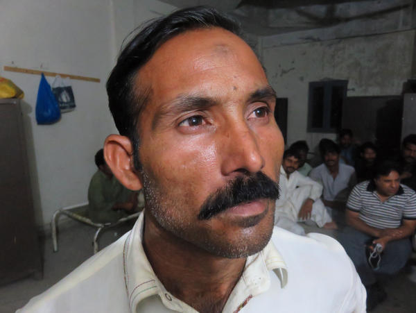 """Saddi Ahmed spent four weeks locked in the Rawalpindi apartment. """"I told the people in the room, I've been brought here for work. The agents said they had a business. The people said, 'There's no such business. They take away your kidneys here.'"""""""