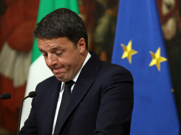 Italian Prime Minister Matteo Renzi announced Sunday night he would resign, after voters rejected the referendum on constitutional reforms. Opposition parties had framed the vote as a referendum on Renzi himself.
