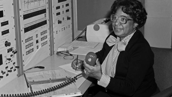 "According to NASA, Mary Jackson ""may have been the only black female aeronautical engineer in the field"" in the 1950s. Singer and actress Janelle Monáe plays her in the film <em>Hidden Figures</em>."