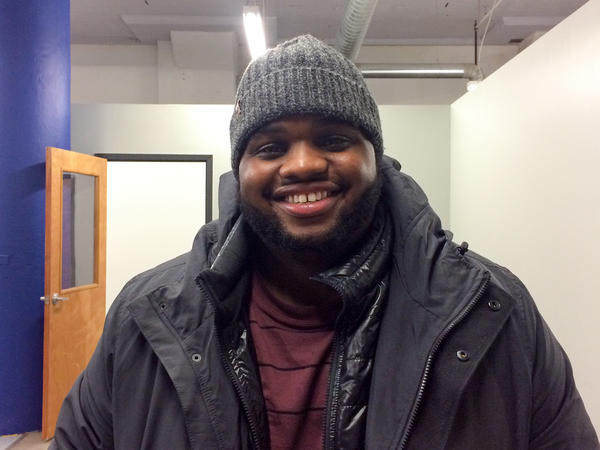 Chinemerem Onyeukwu, 23, an organizer with the Ohio Democratic Party's coordinated campaign to elect Clinton, is worried Democrats are not investing in young voters.