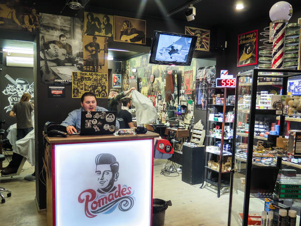 Pomades is one of half-a-dozen barbershops on a single block in central Moscow. Until recently, Russian society took a narrow view of masculinity. Real men weren't supposed to worry about hair or skincare.