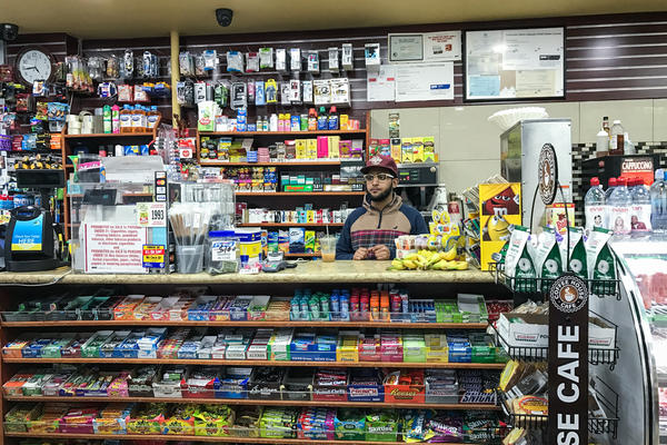 Abdul Sulaimani's family has owned Yafa Newsstand & Deli, a bodega in Brooklyn, N.Y., for more than two decades.