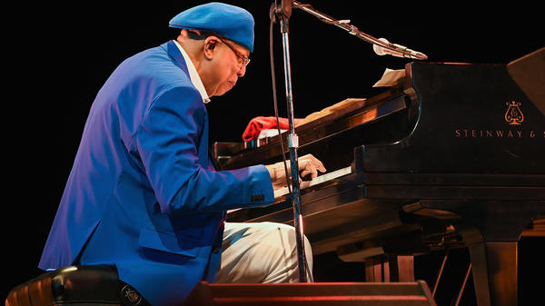 Cuban pianist Chucho Valdés performs at the Havana Jazz Festival in December 2016. Valdés is one of the artistic directors of this year's International Jazz Day festivities.