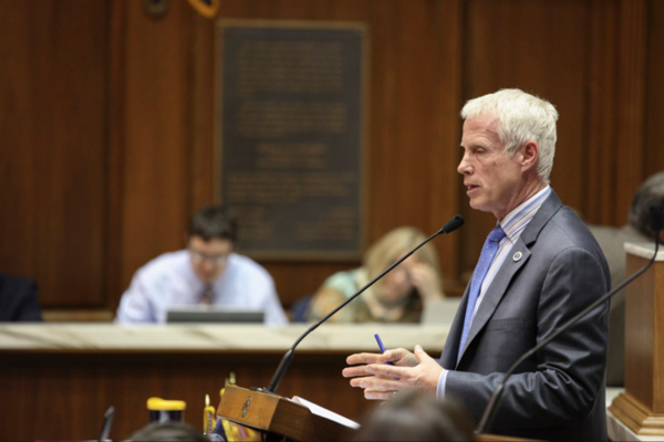 """""""The intent of the program was to give parents choice,"""" says state Rep. Robert Behning. Parents of children in private schools, he says, """"are taxpayers just like the parents in a traditional public school."""""""