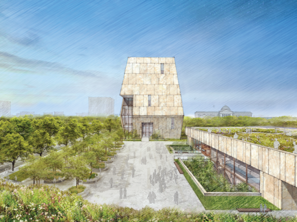A rendering of the Obama Presidential Center.