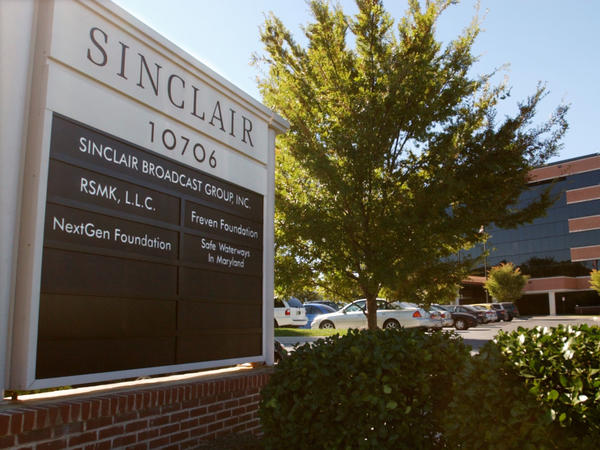 Sinclair Broadcast Group, based in Maryland, has announced a deal to buy TV stations owned by Tribune Media.