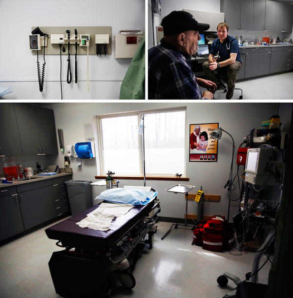The Klukwan clinic is open on Tuesdays and Thursdays, and includes two exam rooms, a dental suite and a small lab for basic diagnostics. It's part of the Southeast Alaska Regional Health Consortium, or SEARHC.