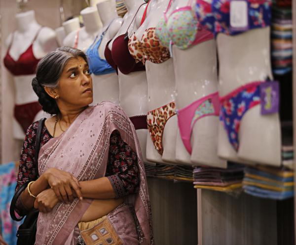 "Actress Ratna Pathak stars as the older woman, Usha or Auntie, in Alankrita Shrivastava's <em>Lipstick Under My Burkha</em>. She says ""little by little"" Bollywood is showing a bit more interest ""in stories about women that are not black and white."""