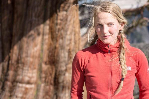 Emily Harrington in Yosemite National Park in 2015.