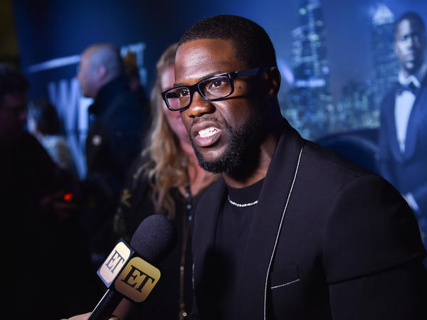Actor and comedian Kevin Hart said that he wouldn't tell jokes about Donald Trump.