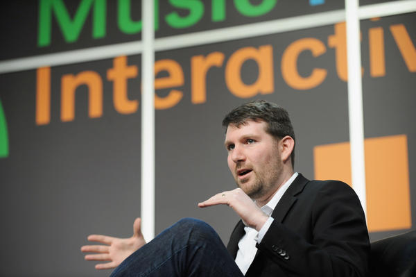 Eli Pariser, CEO of Upworthy, speaks onstage at during the 2014 SXSW Festival in Austin, Texas. At its peak, the site, which is founded on a mission of promoting viral and uplifting content, was reaching close to 90 million people a month.