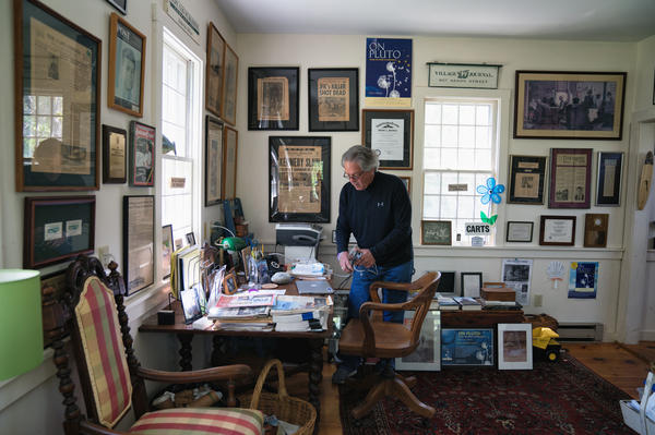 Although Alzheimer's has made writing more difficult, Greg still works as a freelance writer and editor. He wrote an autobiography, <em>On Pluto: Inside The Mind Of Alzheimer's,</em> about his diagnosis.