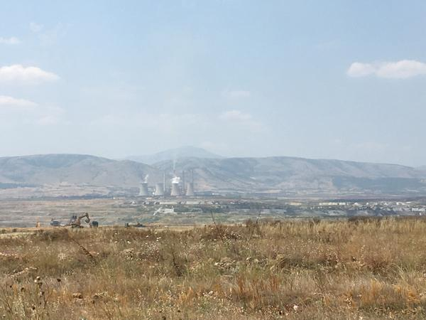 The municipality of Kozani has several lignite coal plants. Lignite helped develop Greece after World War II but, as it runs out, it's quickly being displaced by imported diesel and natural gas.