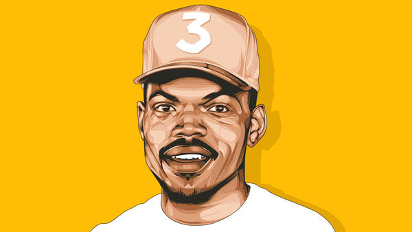 Chance The Rapper's streaming-only album <em>Coloring Book</em> won him three Grammys this year.
