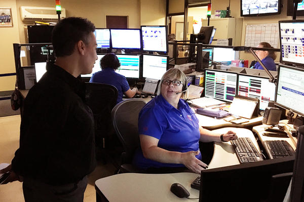 The Addison Consolidated Dispatch Center in Illinois is one of hundreds of 911 emergency call centers located across the country that are legacies of the 1967 Johnson Crime Commission.