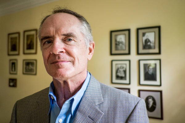 """Jared Taylor is the founder of American Renaissance, a website that he says is among the """"many websites and organizations that speak in the name of whites."""""""