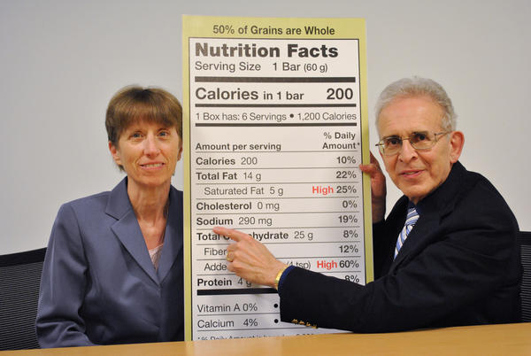 Their hair is shorter and grayer now, but Liebman and Jacobson still are campaigning against too much salt in food. This photo was taken last year.