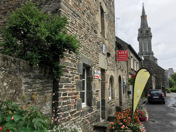 The Association Integration Kreiz Breizh is in Gouarec, a rustic village in Central Brittany. The association helps British nationals with paperwork to set up French residency.