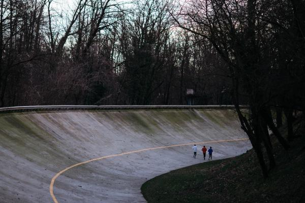 The attempt to break the two-hour marathon was staged on a Formula One racetrack in Monza, Italy.
