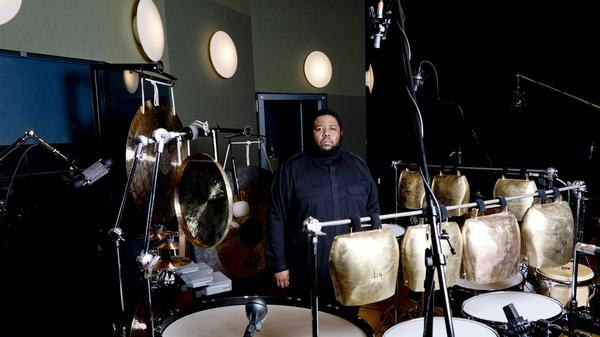 Composer, multi-instrumentalist and educator Tyshawn Sorey, who has been granted a MacArthur Fellowship.