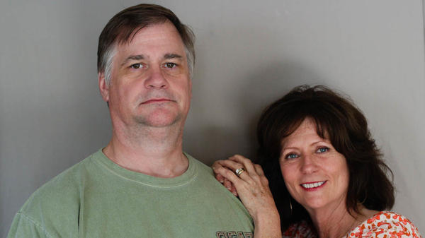 Greg and Lynne Houston shared the story of their unconventional courtship with StoryCorps in McLeansville, N.C.