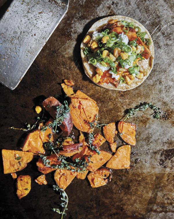 Avila's sweet potato tacos