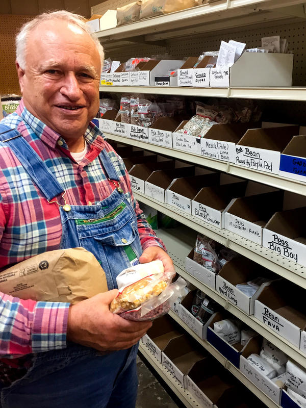 For nearly half a century, John Coykendall has been collecting seeds and the stories of the people who grow them.