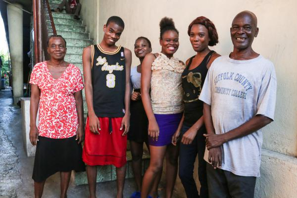 The Altes family in Port-au-Prince worries that they won't be able to survive without help from Desir.