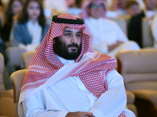 "Saudi Crown Prince Mohammed bin Salman attends the Future Investment Initiative conference in Riyadh last month. ""We are returning to what we were before — a country of moderate Islam that is open to all religions and to the world,"" he said at the economic forum."