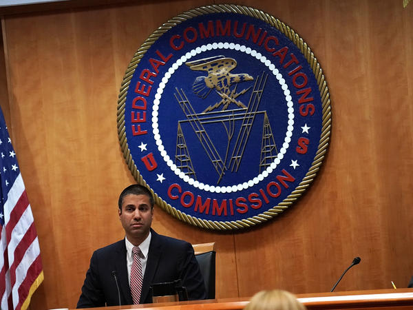 """Federal Communications Commission Chairman Ajit Pai led a vote to repeal Obama-era """"net neutrality"""" rules on Thursday."""