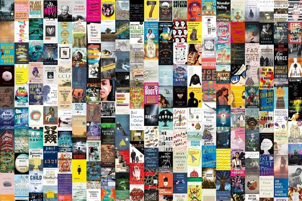 A composite of book covers from the 2017 Book Concierge.